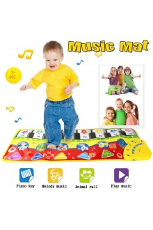 70x27CM Baby Music Play Carpet Mat Kids Crawling Piano Carpet Educational Musical Toy Children Touch Play Game for Birthday Gift