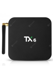 TX6 Android 9.0 TV Box 4K HDR Ultra-HD Video 4GB RAM 64GB ROM Dual-band 2.4G 5G WiFi USB 3.0