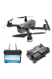 KF607 2.4Ghz Brushless GPS Folding Aerial RC Quadcopter Drone, OpticalFlow 1080P Flat Angle Coxless Camera