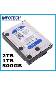 "2TB 1TB 500GB SATA 3.5 inch for Desktop pc Hard disk HDD 3.5"" ~ WD ~ Toshiba ~ Hitachi ~ Seagate"
