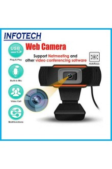 Full HD 1080P Usb Webcam with Mic , Usb Camera for Desktop Laptop notebook Pc Whatsapp Zoom Meeting Google Meet Msn