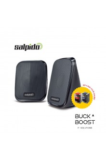 Salpido Macchi 7 - 2.0 Channel USB Portable Speaker (Ready Stock)