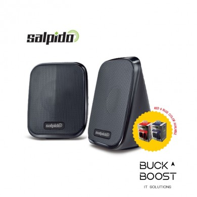 Salpido Macchi 7 - 2.0 Channel USB Portable Speaker (Ready Stock)
