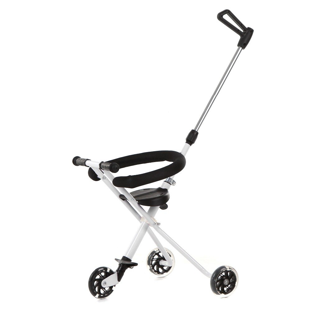 Jollybee-3-Wheels-Portable-Folding-Tricycle-Hand-Push-Walker-Baby-Magic-Stroller
